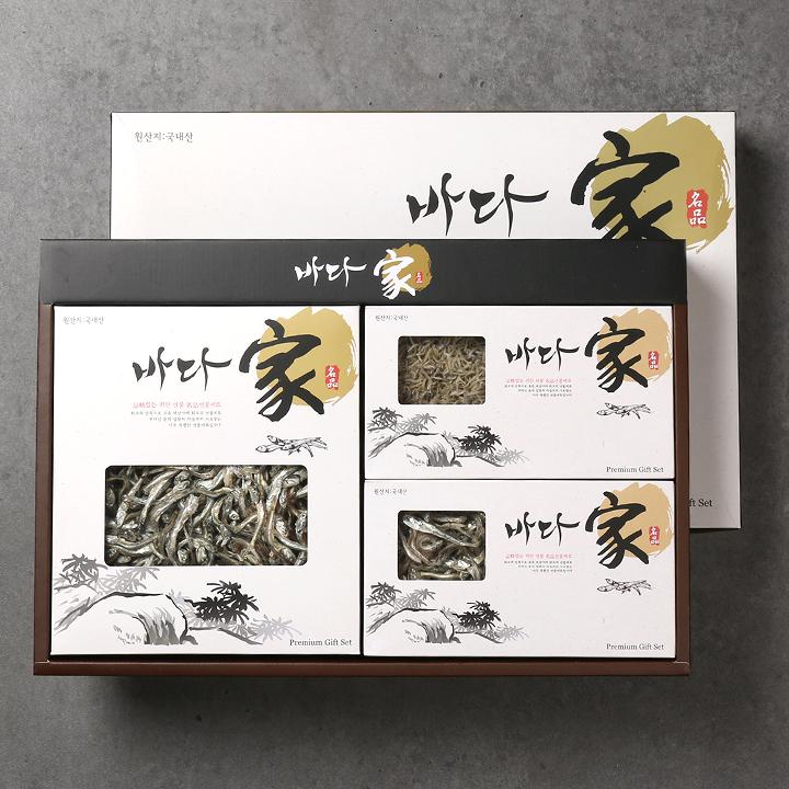 2019년 설)정성愛 3종 멸치세트(대멸/중멸/소멸)이식사