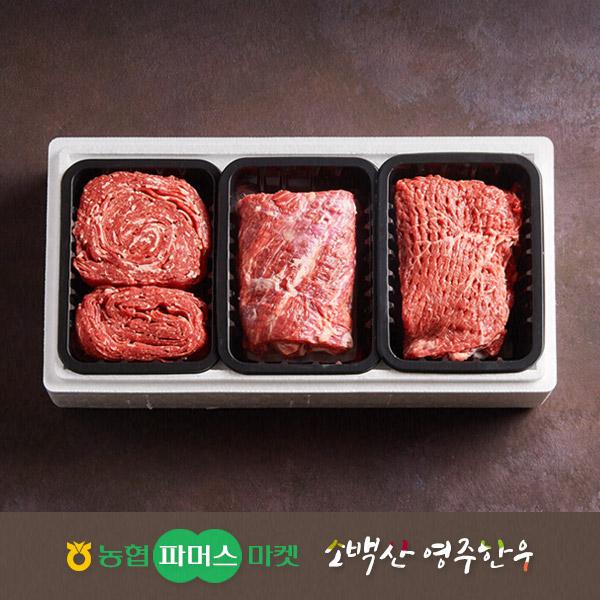 2019년 설/냉장)특선 영주한우 실속정육 5호이식사